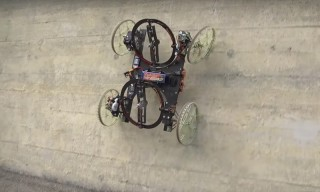 Check out Disney Research's Wall-Climbing Robot 'VertiGo'