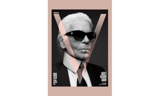 Lady Gaga Puts Karl Lagerfeld on the Cover of 'V' Magazine