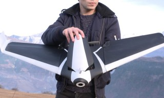 The Uncrashable Wing-Shaped Drone You've Always Wanted
