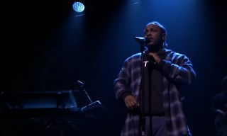 "Kendrick Lamar Premieres New Track ""Untitled II"" on Jimmy Fallon"