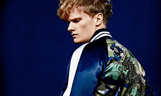 Valentino Turns Blue for the SS16 Issue of 'SENSE'