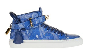 "Buscemi & colette Come Together for 100MM ""Blue Palm"""
