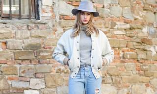 Street Style: Cristina Marino in visvim, Bleu De Paname and Larose Paris