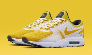 Nike Gives the Air Max Zero a Yellow Makeover