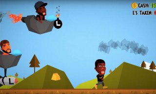 Drake and 50 Cent Throw L-Bombs at Meek Mill in New Side-Scroller