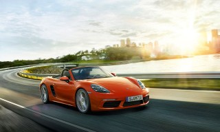 Porsche Unveils the New Boxster 718