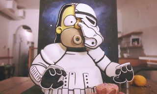 Homer Simpson Gets Turned Into a Super Tasty 3D Stormtrooper