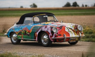 Janis Joplin's Psychedelic Porsche 356 SC Is One-of-a-Kind