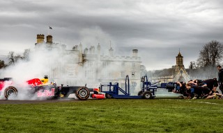 Watch What Happens When an F1 Car and a Rugby Club Go Head-to-Head