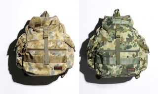 BEAUTY & YOUTH and Briefing Partner for Camouflage Flap Sacks
