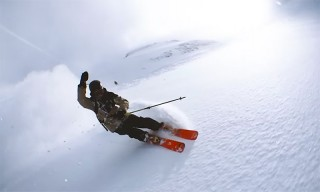 Pro-Skier Swings iPhone 6 Around His Head to Create Crazy Slow-Motion Video