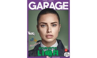 Adriana Lima Appears in 'GARAGE' Magazine as a Marvel Superhero