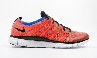 "Nike Drops the Free Flyknit NSW in ""Bright Crimson"""