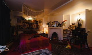 Take a Look Inside Jimi Hendrix's London Bedroom