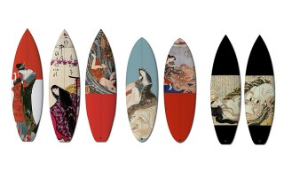 These Surfboards Draw Inspiration From 18th Century Japanese Art