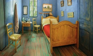 A Recreation of Van Gogh's Famous Bedroom Is Available to Rent for $10/Night
