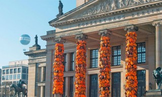 Ai Weiwei Covers Berlin's Concert Hall With 14,000 Refugee Life Jackets