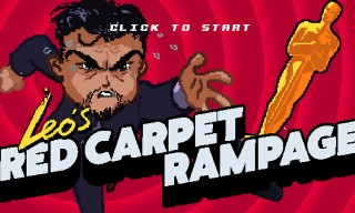 Celebrate Leonardo DiCaprio's First Oscar Win With 'Super Red Carpet Rampage' Game
