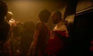 "Watch Rihanna Buss a Whine on Drake in the ""Work"" Music Video"
