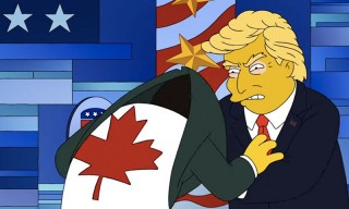 "'The Simpsons' Make Fun of Every Presidential Candidate in ""The Debateful Eight"""