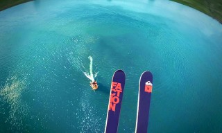 Pro Skier Candide Thovex Has One of the Most Insane Runs You'll Ever See