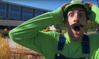 Super Mario Comes to Life in This Augmented Reality Parkour Video