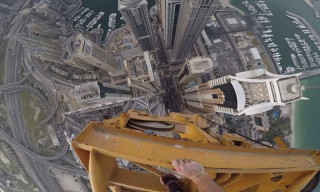 James Kingston Climbs the World's Tallest Residential Building for Insane POV Adventure