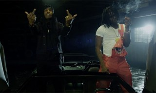 "Chief Keef & A$AP Rocky Mob out in the Music Video for ""Superheroes"""