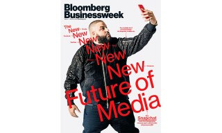 DJ Khaled Takes His Snapchat Success to the Cover of 'Bloomberg Businessweek'