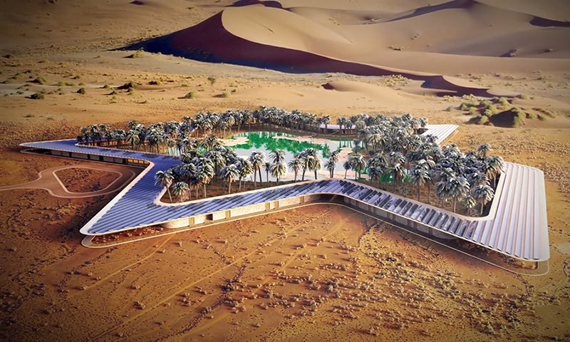 Oasis Eco Resort Could Be The World S Greenest Holiday Resort