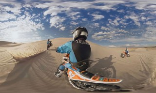 Watch This 360-Degree Virtual Reality Video of Ronnie Renner Jumping Sand Dunes