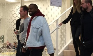 Kanye West Visits IKEA HQ in Sweden to Discuss Possible Design Collaboration