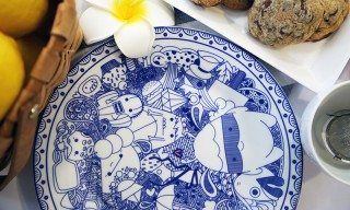 Enhance Your Dining Experience With This Quirky Hand-Drawn Dinnerware