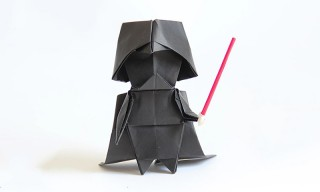 Tadashi Mori Teaches You How to Make Darth Vader Origami