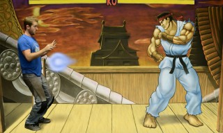 Watch an Artist Get Hadouken'd by His 3D 'Street Fighter' Chalk Art