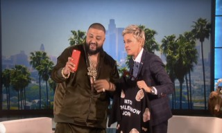 "DJ Khaled Talks Jay Z, Haters & the ""Keys to Success"" on 'Ellen'"