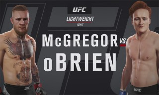 Conan O'Brien & Conor McGregor Square off in the Virtual Octagon