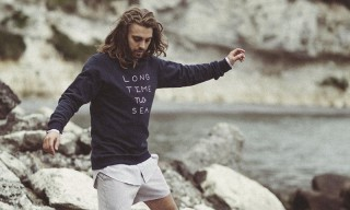 "Pleasant Show off Cozy Goods in ""Lazy Sea Lazy Me"" Lookbook"