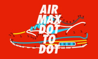 Go Back to Grade School With These Dot-to-Dot Nike Air Max Illustrations