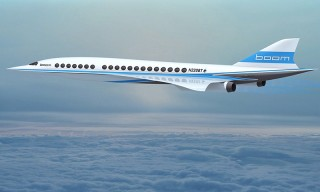 Supersonic Jet Startup Can Take You From NYC to London in 3.5 Hours