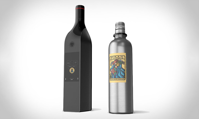 kuvee 39 s smart wine bottle highsnobiety. Black Bedroom Furniture Sets. Home Design Ideas