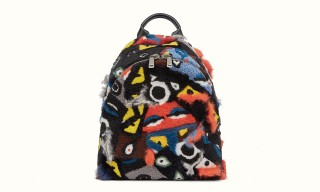 Fendi Gets Furry With Colorful New Backpack