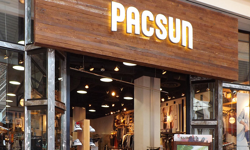 PacSun History. Pacific Sunwear of California, or PacSun for short, was founded in by Tom Moore. The company began as a small surf shop in Newport Beach, California.