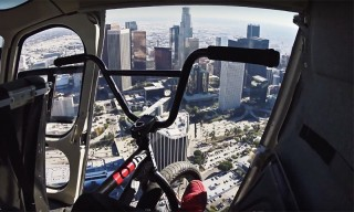 Nigel Sylvester Meets Nick Young, Rob Dyrdek & Ben Baller While Biking Through LA
