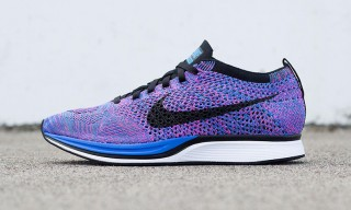 Nike Launches An Indigo Colorway of the Flyknit Racer