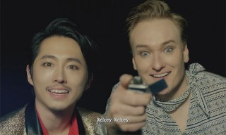 Watch Conan O'Brien's Hilarious K-Pop Video With The Walking Dead's Steven Yeun