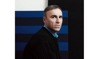 Raf Simons Talks Social Media With 'The Telegraph'