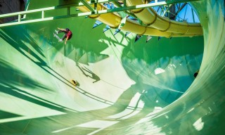 Watch These Daredevil Skateboarders Shred an Empty Waterpark in Dubai