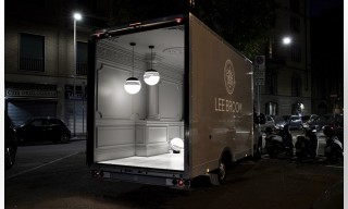 Lee Broom Transformed a Delivery Van Into a Light Installation