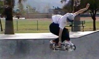 Jake Anderson Skates Drainage Canals for Stussy